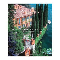 "Abrams - Slim Aarons: La Dolce Vita Book - ""This lavish fourth volume in Abrams Slim Aarons collection revels in this photographer's decades-long love affair with Italy. From breathtaking aerials of the Sicilian countryside to intimate portraits of celebrities and high society taken in magnificent villas, Slim Aarons: La Dolce Vita captures the essence of the good life. Slim Aarons first visited Italy as a combat photographer during World War II and later moved to Rome to shoot for Life magazine, yet even after relocating to New York, he would return to Italy almost every year for the rest of his life.The images collected here document the aristocracy, cultural elite, and beautiful people, such as Marcello Mastroianni, Ursula Andress, Joan Fontaine, and Tyrone Power, who lived la dolce vita in Italy's most fabulous places during the last 50 years. The introduction by Christopher Sweet shares stories from Aarons's years in Italy and new insights about his life and career."""