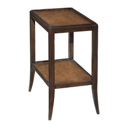 EuroLux Home - New Side Table Brown/Beige/Tan - Product Details