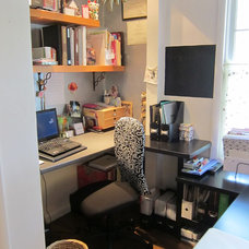 Contemporary Home Office by Artistry Interiors, LLC