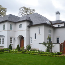 Traditional Exterior by David Buergler Architecture