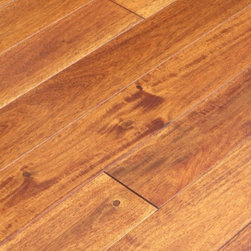 """Elegance Plyquet - Big Leaf Acacia Asian Walnut Champagne Wood Floor- Sample 8"""" x 3-5/8"""" - This listing is for 2 pieces of wood floor samples (8"""" x 3-5/8"""")"""