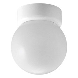 Progress Lighting - Progress Lighting P3203-30 Glass Globes 1 Light Flush Mount Ceiling Light In Whi - Progress Lighting P3203-30 Glass Globes 1 Light Flush Mount Ceiling Light In White