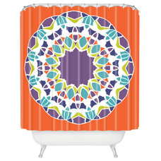 Mediterranean Shower Curtains by DENY Designs