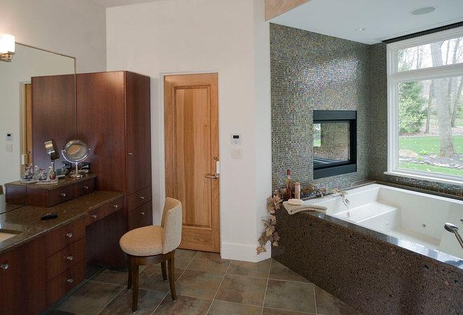 Contemporary Bathroom by Martin Bros. Contracting, Inc.
