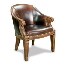 California House - ivey game chair (leather) - Manufactured in the USA, we are proud to offer our customers this premium game room furniture from a third generation, family-owned company.