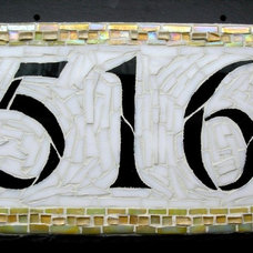 Craftsman House Numbers by Nutmeg Designs