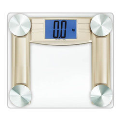 Cook N Home - Cook N Home Digital Bathroom Scale, Transparent - Digital bathroom scale with high precision strain gauge sensor system use the most advanced technology in weighing mechanism system, smart step-on technology offers you instant and accurate measurements upon step onto the scale, no need tapping to turn on like traditional scales, automatically turns off when you are not using this scale to save the battery.