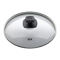 "Fissler - Quality Glass Lid Comfort 11"" - ""Ultimate Frying System The Ultimate Frying System is based on the 2-pan philosophy-Crispy & Protect."
