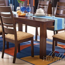 Acme Furniture - Everest 7 Piece Dining Set - 0850-7set - Includes Table and 6 Side Chairs