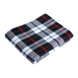 "Blancho Bedding - [Gracious Plaids - Black/White/Red/Blue]Soft Coral Fleece Throw Blanket 71""-79"" - The Coral Fleece Throw Blanket measures 71 by 79 inches. Whether you are adding the final touch to your bedroom or rec-room, these patterns will add a little whimsy to your decor. Machine wash and tumble dry for easy care. Will look and feel as good as new after multiple washings! This blanket adds a decorative touch to your decor at an exceptional value. Comfort, warmth and stylish designs. This throw blanket will make a fun additional to any room and are beautiful draped over a sofa, chair, bottom of your bed and handy to grab and snuggle up in when there is a chill in the air. They are the perfect gift for any occasion!"