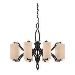 Lincoln 8 Light Chandelier