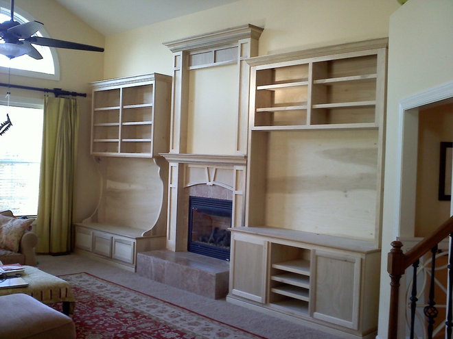 Traditional Home Decor by Rick Alan Carpentry