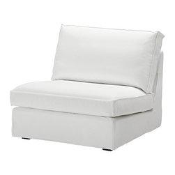 Ola Wihlborg - KIVIK Cover one-seat section - Cover one-seat section, Blekinge white