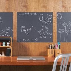 Wallcandy Arts Chalkboard Panels Decal - Wallcandy Arts Chalkboard Panels Decal