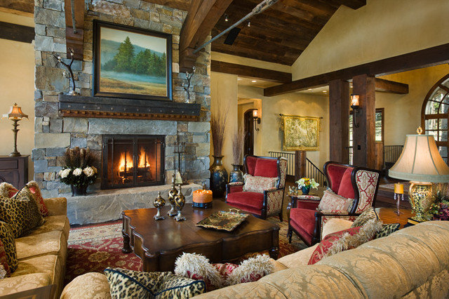 Traditional Living Room by Locati Architects