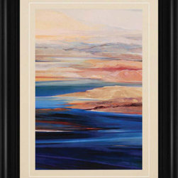 Paragon - Lake Powell III - Framed Art - Each product is custom made upon order so there might be small variations from the picture displayed. No two pieces are exactly alike.