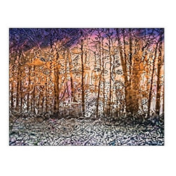 Rustling The Trees (Original) by Pam Fowler - The woods were my playground and they are alive with my imagination then and now. There is magic in the forest and the trees and rocks all have names.