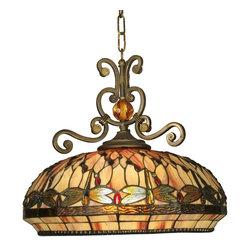 Dale Tiffany - New Dale Tiffany Pendant Light Briar Lamp - Product Details