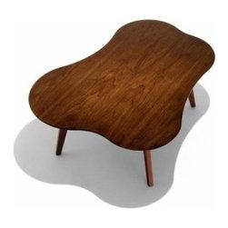 Knoll - Knoll | Risom Amoeba Shaped Coffee Table - Design by Jens Risom, 1941.