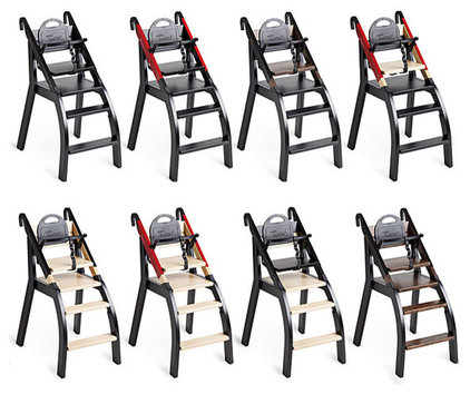 Contemporary High Chairs And Booster Seats by minui HandySitt