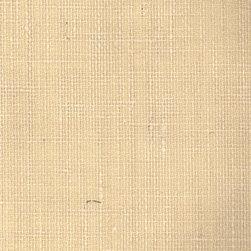 Burlap - Cream - Ralph Lauren's collection of woven wallpapers from the Textures III book.
