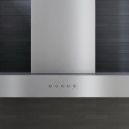 Zephyr Roma Collection Wall Mounted Range Hood ZRO-E30B - Having earned a reputation for well constructed, high-powered range hoods, Zephyr set its sight on redefining the industry by focusing on style and design. Zephyr has seized on the idea that everything in the home is an opportunity for personal expression and elevates the hood to its rightful place: no longer an afterthought, the hood stands above all, as distinctive in its performance as it is in its beauty.