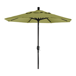 California Umbrella - 7.5 Foot Olefin Fabric Aluminum Crank Lift Push Tilt Patio Umbrella, Black Pole - California Umbrella, Inc. has been producing high quality patio umbrellas and frames for over 50-years. The California Umbrella trademark is immediately recognized for its standard in engineering and innovation among all brands in the United States. As a leader in the industry, they strive to provide you with products and service that will satisfy even the most demanding consumers.