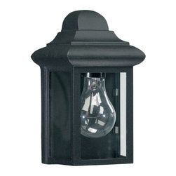 Quorum International - Quorum International Q783 1 Light Outdoor Wall Sconce from the Cast Outdoor Coll - Cast OutdoorBulbs: (1) 60W Medium Baseflush wall mount - UL Wet