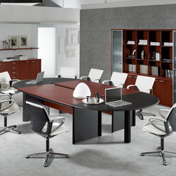 Kim Stylish Conference Table By DV Office - The wide base metal column for conference tables is made of tubular metal, diameter 80 mm, with sheet metal top plate dia 500 mm and thickness 8 mm. Sheet metal base diameter 600 mm and thickness 10 mm. All embossed black coloured.