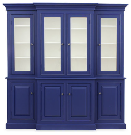 Traditional China Cabinets And Hutches by Redford House Furniture