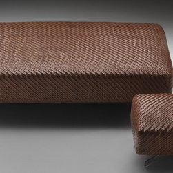 Flexform Poufs - Filicudi ottoman by Flexform