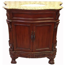 Traditional Bathroom Vanities And Sink Consoles by UNIQUE FURNITURE