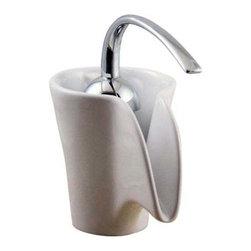 Classic White Ceramic Faucet - Classic white ceramic spout