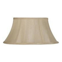 CAL Lighting - CAL Lighting 10.75 in. Cream Fabric Vertical Piped Shade SH-8102/20-CM - Shop for Lighting & Fans at The Home Depot. This durable fabric shade is a good addition to any decor. It features a round bell shape with visible trim. Simple in design, it works well any many styles and finishes.