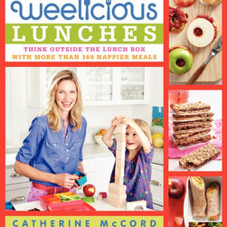 Weelicious Lunches: Think Outside the Lunch Box with More Than 160 Happier Meals - I'm a longtime fan of Catherine McCord and her kids recipe site Weelicious. She just came out with a new book filled with delicious recipes to inspire creative lunch packing. I made her granola bars yesterday and plan to make pretzel bites next.
