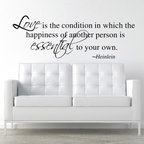 ColorfulHall Co., LTD - Wall Mural Love Is The Condition In Which The Happiness Of Another Person - Wall Mural Love Is The Condition In Which The Happiness Of Another Person