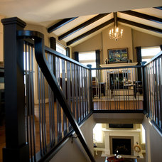 Traditional Staircase by Westridge Homes