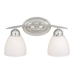 Vaxcel Lighting - Vaxcel Lighting CH-VLD002 Chase 2 Light Vanity Light - Features: