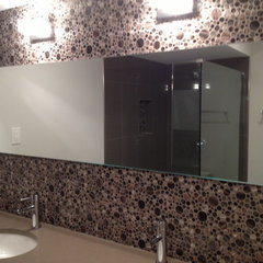 modern bathroom mirrors by John A Tallarida Glass & Mirror