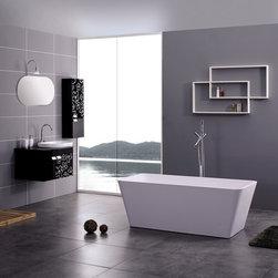 """Felina Luxury Modern Bathtub 59"""" - Felina  Luxury Modern Bathtub"""