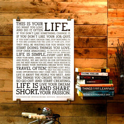 Holstee - Holstee- Poster White Manifesto 18 x 24'' - - Display these words of inspiration as a daily reminder to live your dream.