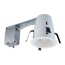 Commercial Electric - Commercial Electric 4 in. Non-IC Remodel Recessed Lighting Kit HBR2000R/201WH - Shop for Lighting & Fans at The Home Depot. The Commercial Electric 4 in. Recessed Lighting Kit includes one 4 in. non-IC airtight housing and one 4 in. white baffle trim to minimize glare. This kit can be used with suspended ceilings and is compatible with a standard wall dimmer.