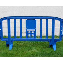 MLR INTERNATIONAL - Movit Barricade - Blue - Blue Plastic Movit Barricade