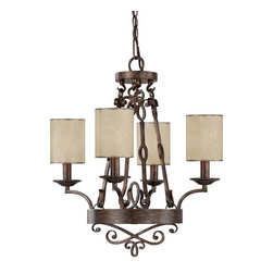 Capital Lighting - Transitional 4 Light ChandelierReserve Collection - Features: Specifications: Requires (4) x 60 Watt Candelabra Base Bulbs (Not Included) Since 1990, Capital Lighting has worked with residential, commercial, hotel and construction clients.