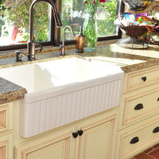 Mediterranean Kitchen Sinks by Kitchens Etc. of Ventura County