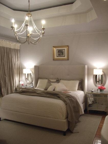 Master Retreat - eclectic - bedroom - - by Terri Symington, ASID