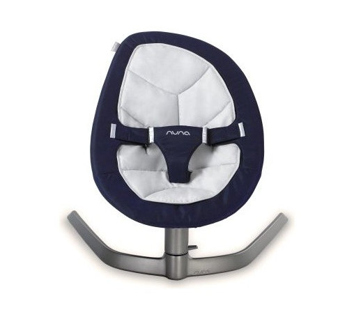 Nuna Leaf Baby Swing - Inspired by a leaf in a gentle breeze, the Nuna Leaf Baby Swing sways and rocks your baby naturally. Use this baby swing motor-free to rock your newborn off to dreamland or for a wiggle party once they're walking. It can even be a comfy crash pad after a hard day on the playground. This baby swing is endurance tested to holds up to 130 pounds -- that will keep them rocking for years.About NunaNuna believes baby products should take some of the work out of being new parents so you can actually enjoy being new parents. Their collection of smart baby gear is inspired by Dutch designers. Nuna baby products combine beauty and craftsmanship with the belief that less is more. Their designs are pared down to the sleekest, smartest versions of themselves. Nuna has won awards from some of the world's most prestigious design and parenting institutions. Nuna made going green a priority right from the start. Their baby products are made in an eco-friendly factory from quality materials that comply with both organic and chemical safety standards.