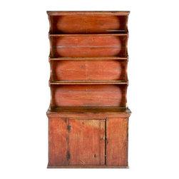 Early American Cupboard - $4,200 Est. Retail - $3,600 on Chairish.com -