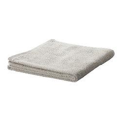 HÄREN Bath towel - Bath towel, light gray