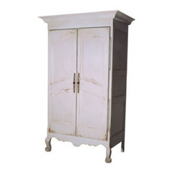 French Armoire - French Armoire is made in a small, European workshop and is available in custom sizing.